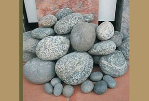 Picture of Landscaping River Rock