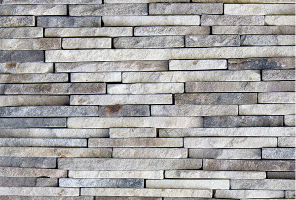 Picture of Saxon Grey Extra small Brick rivens