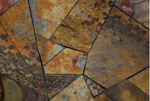 Picture of Slate Rich Autumn Crazy Tiles